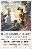 142: Rare Original US WW I Poster Italian Text