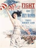 147: Original CHRISTY Liberty Loan US WW I Poster