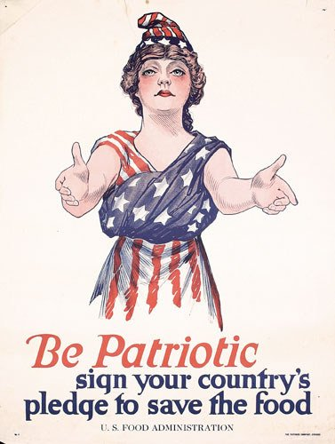4: Group of 4 ORIGINAL American World War I Posters