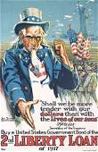 9: Group of 4 ORIGINAL American World War I Posters