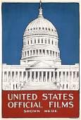 12: RARE ORIGINAL WW I Poster for US War Films