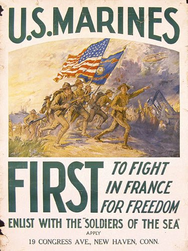 14: Group of 4 ORIGINAL American World War I Posters