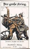 Group of 3 Ludwig Hohlwein WW I Posters ORIGINALS!