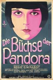 251: German Pandora's Box 1-Sheet ORIGINAL PLAKAT