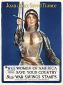 128: Group of 4 Original US World War I Posters