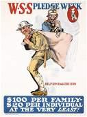 140: Group of 2 Original US WW I Posters