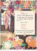 168: Group of 2 US WW I Food Posters