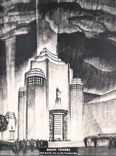 9: RARE 1939 San Francisco World's Fair Poster