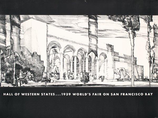 12: Original 1939 SF Golden Gate Expo Poster