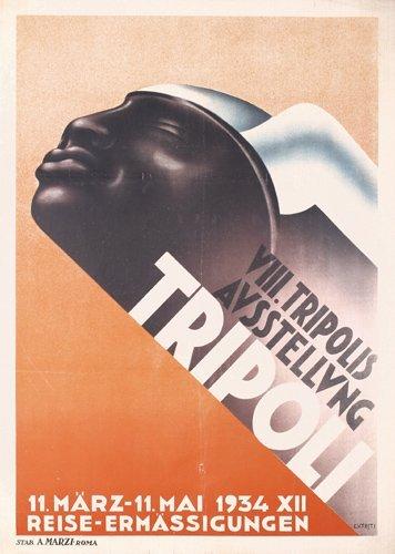 15: RARE ORIGINAL 1930s Tripoli Poster Plakat