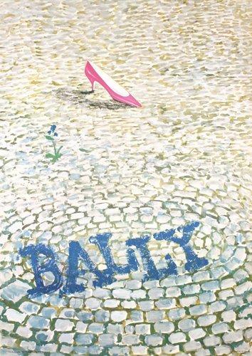 11: Original Bally Shoe poster 1960s Augsburger