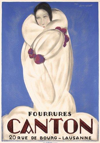 14: Stunning Original Charles Loupot Poster Canton