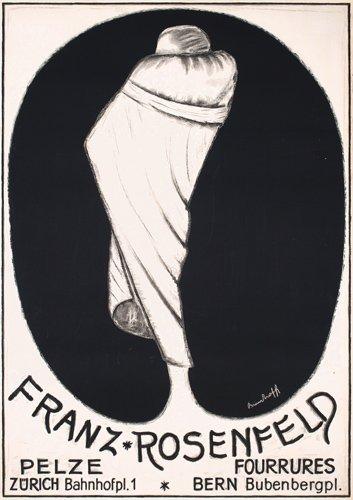 15: RARE Original 1930s Rosenfeld Art Deco Poster