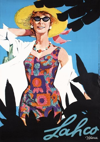 18: Old Swiss Advertising Poster Lahco