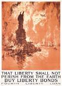 5: Original US WW I Poster Joseph Pennell Large Size