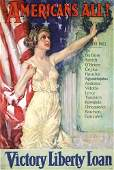14: Group of 3 Original US WW I Posters, Christy, other