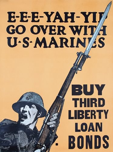 17: Group of 4 US World War I Posters