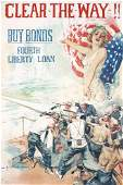 27: Original US WW I Poster Christy Clear the Way