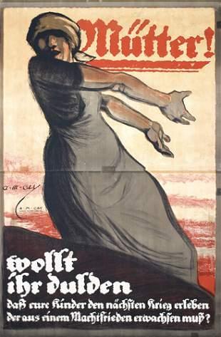 Original Alexander Cay Poster Plakat 1920s GRAPHICS