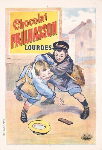 1: VINTAGE POSTER Chocolat Pailhasson 1890s