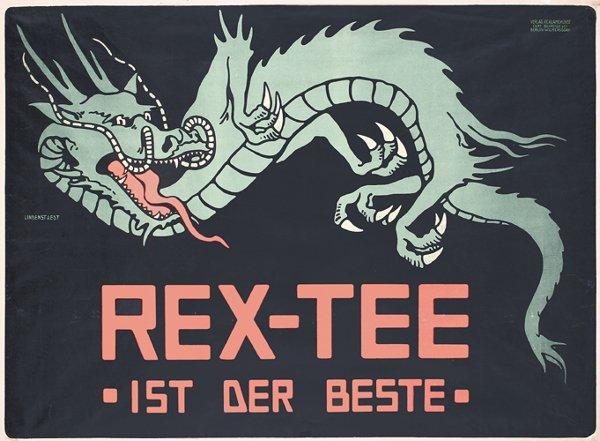 5: STUNNING Rex-Tee Poster 1905 DRAGON