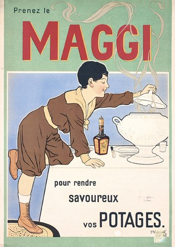 8: OLD Maggi Advertising Poster 1900s