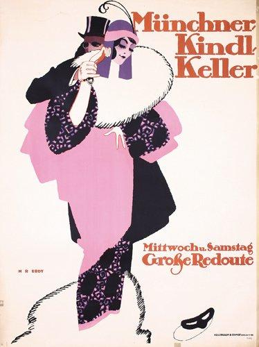 11: Munich Beer Poster ERDT 1914 ORIGINAL