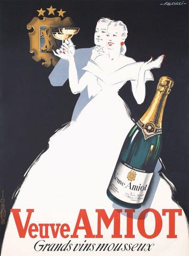 21: ORIGINAL 1930s Veuve Amiot Poster