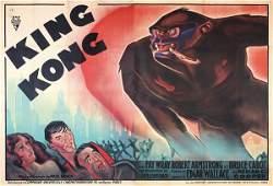 211: RARE Original King Kong 2-Panel 1933 ***
