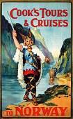 309: ORIGINAL Cook´s Cruises Norway Poster