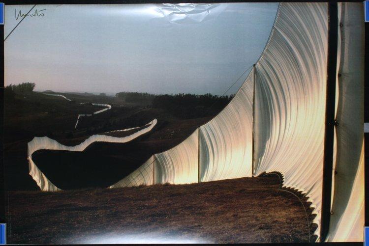 2 Original Modern Art 1970s CHRISTO Posters