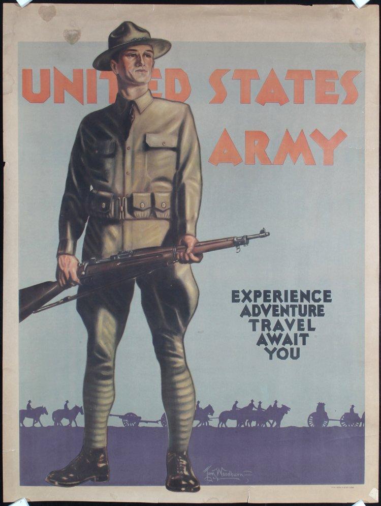 6 American Original World War II Posters Damaged