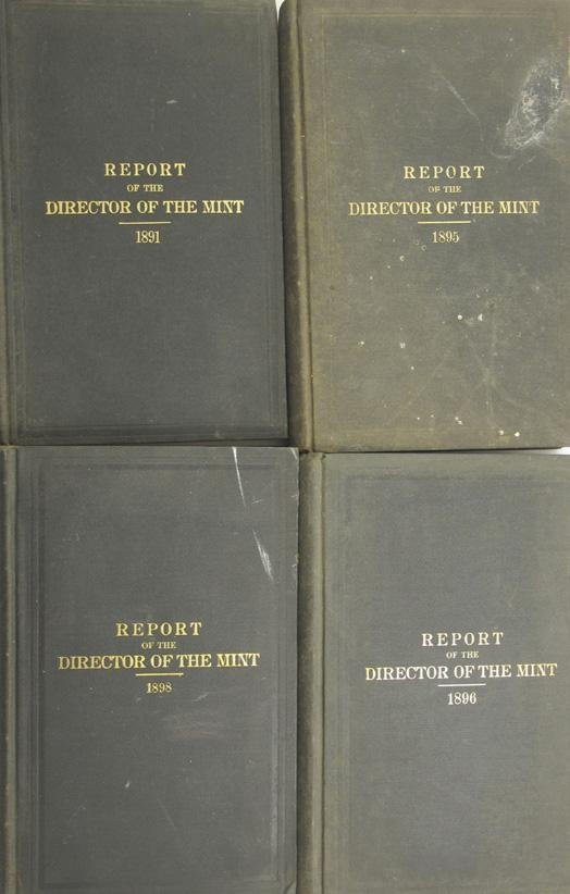 103: Annual Report of the Director of the Mint, 4 Volum