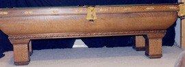 104: Brunswick, Balke Collender Billiard Table