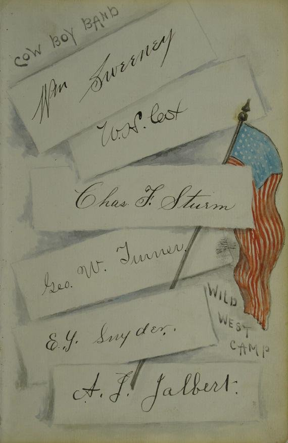 105: Buffalo Bill Cowboy Band Lettersheet