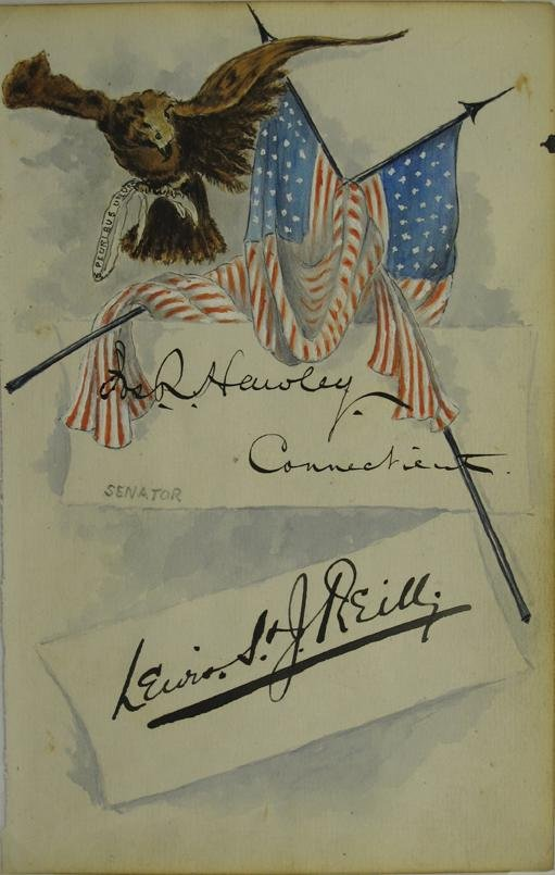107: Buffalo Bill Political Lettersheet