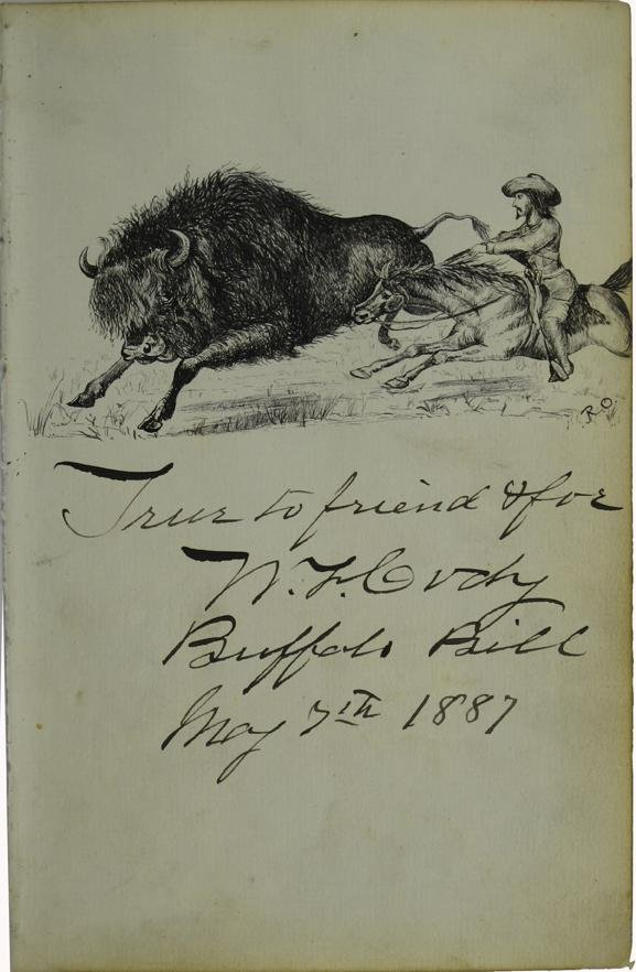 108: Buffalo Bill Signed Lettersheet