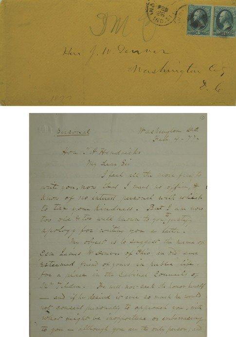 117: Denver, J. W. Letter of Recommendation