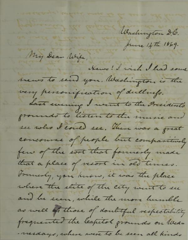 119: Denver, J.W. Letter on Post-War Times