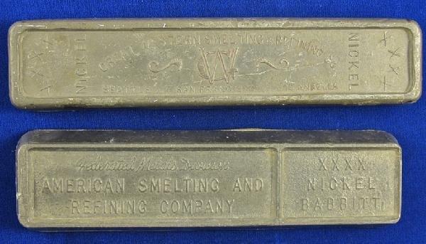 140: Nickel Ingot Pair