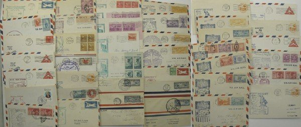 1038: Assorted Counties Postal History Group 5