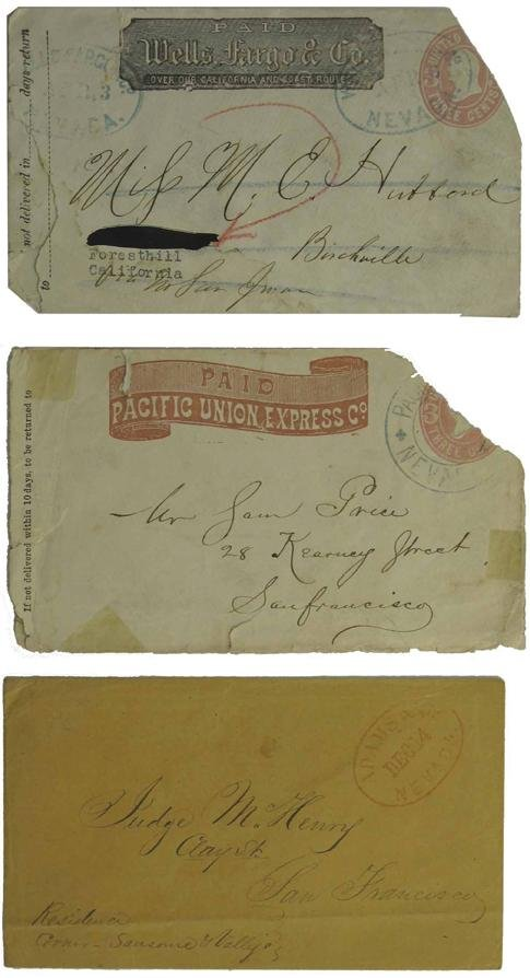 1039: Assorted Counties Postal History Group 7