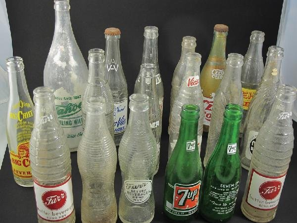 1045: Crown Top Soda Bottle Collection