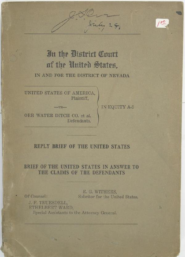 1048: District Courts of the United Stated: In and for