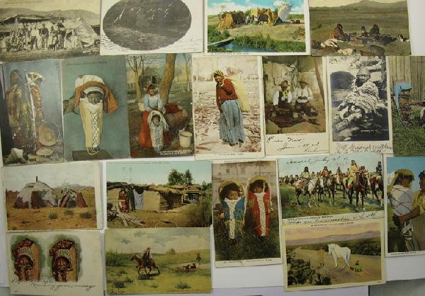 1053: Indian Section Post Cards