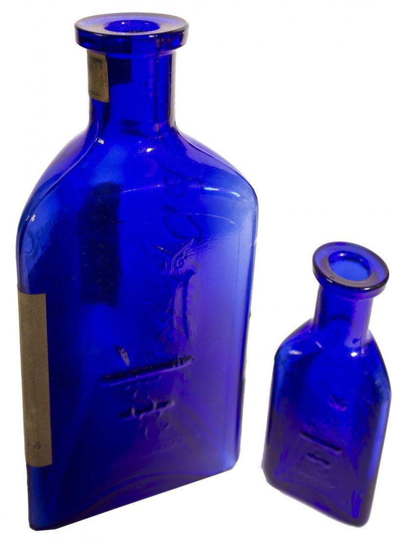 113: Owl Poison Cobalt Bottles