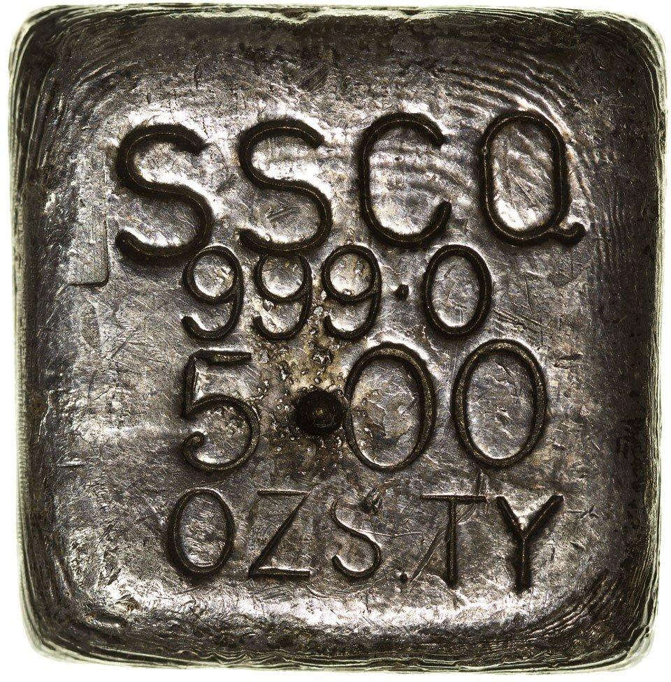 118: c1900 - Silver Ingot