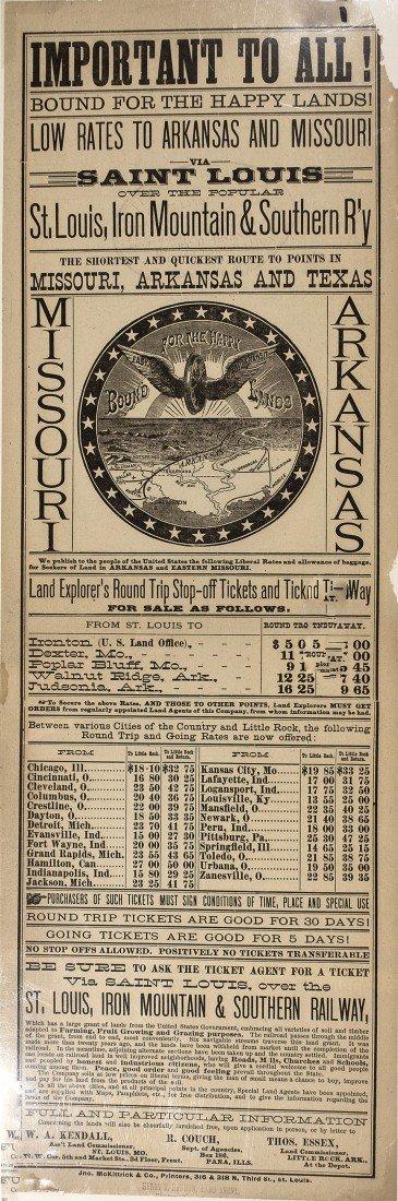 120: 1890 - St. Louis, Iron Mountain & Southern Railway