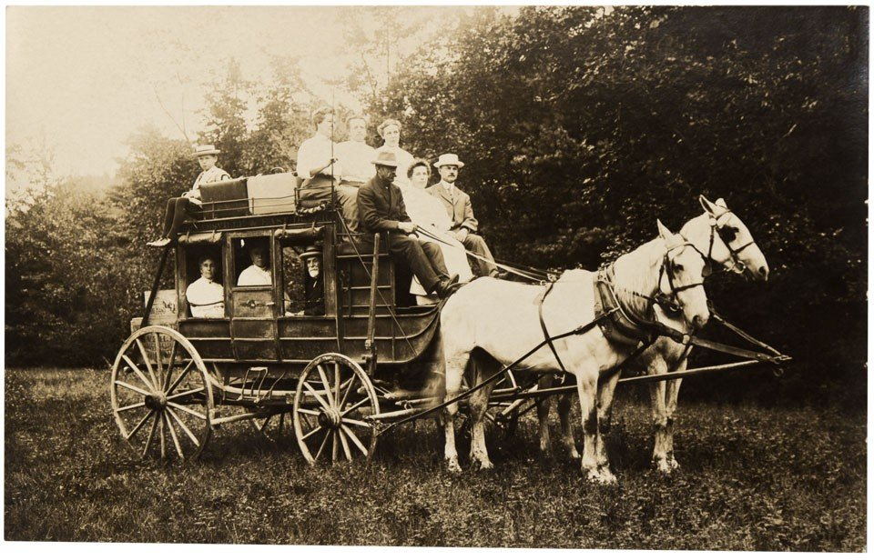 121: c1850s - Stagecoach RPC