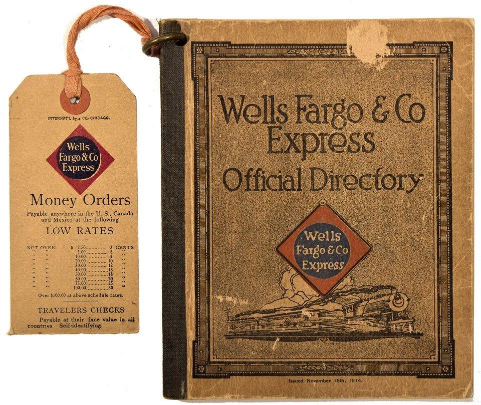 124: 1914 - Wells Fargo & Co. Express Directory